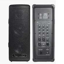 POWERWERKS PW505BT Portable Lightweight Bluetooth PA Speaker System Pair