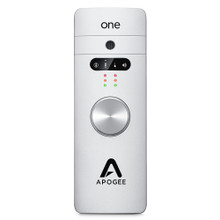 APOGEE ONE Portable All-in-One 2-in / 2-out USB Interface with Breakouts and Mic Stand Adaptor