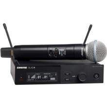 SHURE SLXD24/B58 Handheld Rackmount Digital Wireless Mic System