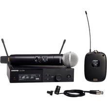 SHURE SLXD124/85 Digital Wireless Combo Handheld / Lavalier Mic System