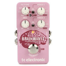 TC ELECTRONIC BRAINWAVES PITCH SHIFTER Guitar Interface 4-in-1 Pitch/Harmonizer Pedal with Whammy Effect