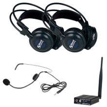 VOCOPRO SILENTSYMPHONY-DUO-TALK 2 Headphone & 1 Headset Wireless Personal System