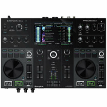 """DENON PRIME GO 2-Deck Rechargeable Wi-Fi DJ Controller with 7"""" Touch Display & Software"""