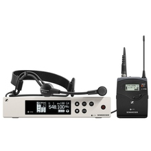 SENNHEISER EW 100 G4-ME3 Evolution Headset Wireless Rackmount System with Built-in EQ