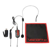 VOCOPRO USB-GUITAR-3 Dual Wireless USB Plug & Play PC/Mac Headset & Guitar System