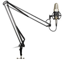 BESPECO MSRA10 Desk Microphone Boom Stand with XLR Cable