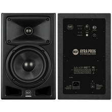 RCF AYRA PRO6 240w Total Active Nearfield Reference Studio Monitor Pair
