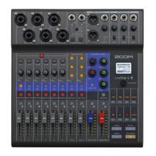 ZOOM LIVETRAK L-8 Live & Podcast Digital Mixer / Recorder