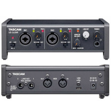 TASCAM US-2x2HR USB Mac/PC/iOS Audio Interface with Software Bundle