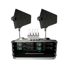 VOCOPRO BENCHMARK-QUAD-BP Tour Grade Lavalier Wireless System with Directional Antennas