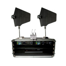 VOCOPRO BENCHMARK-DUAL-BP Tour Grade Lavalier Wireless System with Directional Antennas