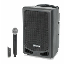 SAMSON EXPEDITION XP208W Portable 20 Hour Rechargeable Bluetooth Wireless Mic PA System