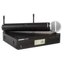 SHURE BLX24R/B58 Handheld Rackmount Wireless SuperCardioid Mic System