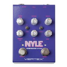 VERTEX NYLE Guitar / Bass Compressor FX Pedal