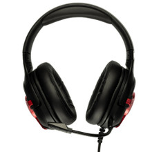 ASHDOWN METERS LEVEL-UP-RED Wired 7.1 Surround Sound RGB Color Gaming Headset
