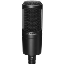 AUDIO TECHNICA AT2020 Classic Side Address Standheld Podcasting Microphone
