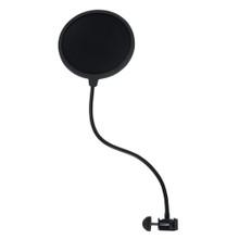 GATOR Rok-It RI-POPFILTER  Single Layer Microphone Pop Filter with Gooseneck Clamp Mount