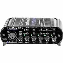 ART HEADAMP4 PRO Compact 5 Channel Headphone Amplifier with Talkback