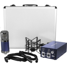 MXL REVELATION II Tube Microphone with Cables, Shockmount, Power Supply and Case