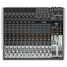 BEHRINGER X2222USB Home Studio or Live Recording Mixer with Software