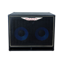 ASHDOWN ABM-210H EVO IV Compact 300W Blue Line 2x10 Bass Speaker Cabinet