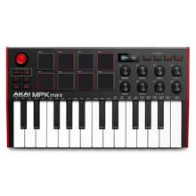 AKAI PROFESSIONAL MPK MINI MKIII MIDI Controller with Pads and Software