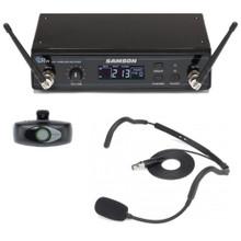 SAMSON AHX HEADSET Wireless Rackmount Performance QE Mic System