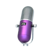 HEIL PR-77D Purple Deco Series Broadcast/Podcast Microphone