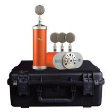 BLUE MICROPHONES BOTTLE MIC LOCKER Custom Hot Rod Orange Studio Tube Mic Capsule Collection