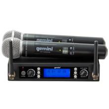 GEMINI UHF-6200M Dual Handheld Microphone Wireless System