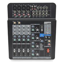 SAMSON MXP124FX MixPad 12-Channel Analog Stereo Desktop USB FX Audio Mixer