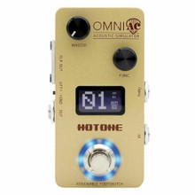 HOTONE OMNI ACAcoustic Simulator & USB Audio Interface Guitar FX Pedal