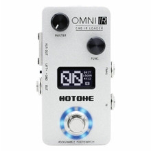 HOTONE OMNI IR Impulse Response Cabinet Simulator & USB Audio Interface Guitar FX Pedal