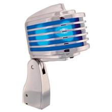 HEIL THE FIN Chrome Body/Blue LED Retro-Styled Dynamic Cardioid Microphone