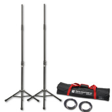 HK AUDIO LUCAS-KM3002 stands with Cables & Nylon Carry Bag