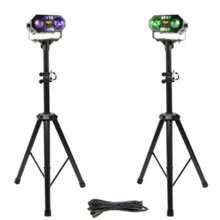 VOCOPRO DYNAMIC-DUO Dual 5 in 1 Multi-FX Lights on Tripods