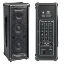 POWERWERKS PW50 Portable Lightweight Personal PA Speaker System Pair