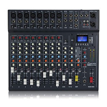 STUDIOMASTER CLUB XS12 Compact USB Recording Audio Mixer with Professional Console Features