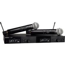 SHURE SLXD24D/B58 Dual Handheld Rackmount Digital Wireless Mic System