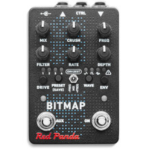 RED PANDA BITMAP 2 Fractional Bit Reduction / Modulation FX Pedal