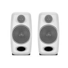 IK MULTIMEDIA iLOUD MICRO MONITOR WHITE Ultra-Compact Stereo Bluetooth Reference Monitor Pair