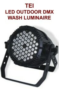 TEI LED outdoor DMX wash luminaire $50 Instant Coupon use Promo Code: $50-OFF