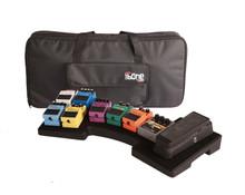 GATOR G-MEGA-BONE Polyethylene Pedalboard & Case