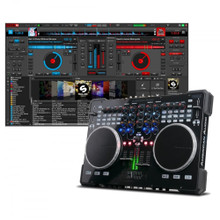 AMERICAN AUDIO VMS5 Midi Controller Workstation with Virtual DJ 8 LE Software $10 Instant Coupon use Promo Code: $10-OFF
