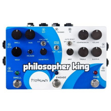 PIGTRONIX PHILOSOPHER KING 4 in 1 Multi Guitar Pedal $15 Instant Coupon use Promo Code: $15-OFF