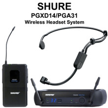SHURE PGXD14/PGA31 Digital Headset Wireless System $10 Instant Coupon use Promo Code: $10-OFF