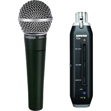 SHURE SM58-X2U USB Adaptor Mic & Cable $5 Instant Coupon use Promo Code: $5-OFF