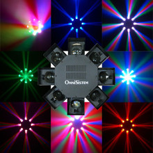 OMNISISTEM LED DANCER 120 Light 8 Mirror Centerpiece $20 Instant Coupon Use Promo Code: $20-OFF