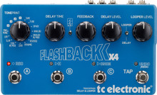 TC Electronic Flashback X4 Multiple FX Guitar Processer Interface