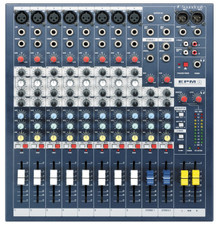 SOUNDCRAFT EPM8 Affordable High Performance Rackmount Mixer $5 Instant Coupon Use Promo Code: $5-OFF